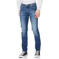 Lee luke jeans slim, blu (deep foam ih), 32w / 32l uomo
