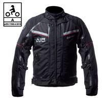 BEFAST giacca moto touring befast transformer ce certificata 3 strati nero