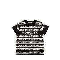 MONCLER t-shirt in jersey di cotone con logo