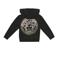 Versace Kids felpa in cotone con cappuccio