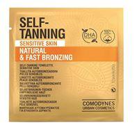 Comodynes Urban Cosmetics comodynes self-tanning natural & fast bronzing salviettina autobbronzante 1 pezzo