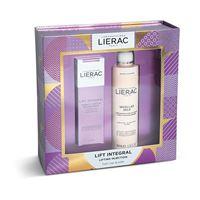 Lierac cofanetto lift integral siero booster di tonicità 30ml+ latte micellare struccante 200ml