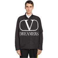 VALENTINO giacca v logo dreamers con stampa