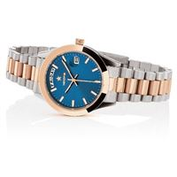 Hoops orologio hoops luxury in acciaio 2620lsrg04 silver rose gold blue