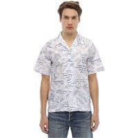 KENZO camicia in cotone stampato