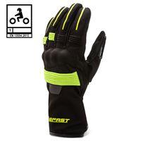 BEFAST guanti moto invernali befast artic ce certificati nero giallo