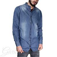 Altri Designer camicia uomo casual jeans denim collo coreano bottoni casual over size