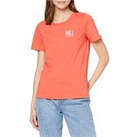 Marc O'Polo 002207251189 t-shirt, arancione (sunset orange 264), xs donna
