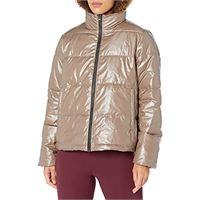 Core 10 high shine insulated puffer full-zip jacket athletic jackets, cruz v2 fresh foam, small (4-6)