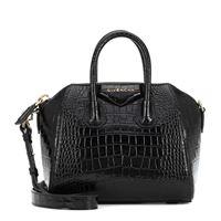 Givenchy borsa antigona mini in pelle stampata