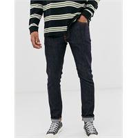 Nudie Jeans co - lean dean - jeans slim affusolati blu dips 16-navy