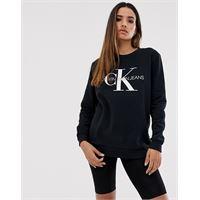 Calvin Klein Jeans - felpa con logo-nero