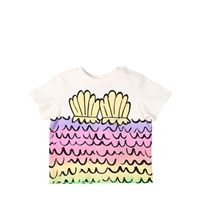 STELLA MCCARTNEY KIDS t-shirt in jersey di cotone organico