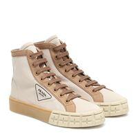 Prada sneakers in gabardine