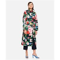 Richard Quinn trench con stampa floreale