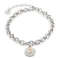 Jack & Co. saldi bracciale jack & co. Jewelry argento amoglianimali collection - jcb0773 - i love my cat