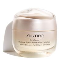 Shiseido trattamenti viso benefiance wrinkle smoothing cream enriched