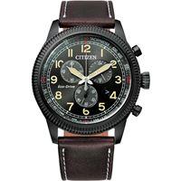 Citizen orologio citizen at2465-18e eco-drive crono aviator
