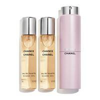 Chanel - chance - eau de toilette twist and spray 3 x 20 ml