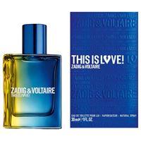ZADIG & VOLTAIRE profumo zadig & voltaire this is love!Pour lui eau de toilette, spray - profumo uomo 30ml