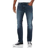 Tommy Jeans uomo scanton slim wlblk straight jeans, blu (william bl bk str 1by), w28/l32