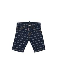DSQUARED2 shorts icon in denim stretch