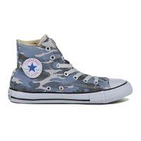 CONVERSE sneaker chuck taylor all star hi denim bambino blu