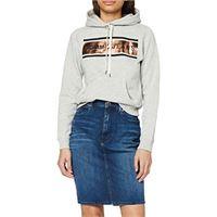 Tommy Jeans high waist denim skirt dyadk gonna, blu (dynamic avery dk bl 1by), (taglia unica: ni24) donna