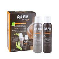 BIOS LINE cell-plus alta definizione mousse croccante anti-cellulite corpo 2 flaconi da 150 ml
