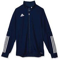 adidas condivo 20 presentation, giacca da rappresentanza uomo, team navy blue/white, m