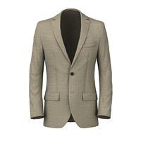Lanieri blazer da uomo su misura, vitale barberis canonico, beige lana seta lino, quattro stagioni | Lanieri