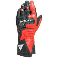 Dainese carbon 3 long guanti-w12-black/fluo-red/white dainese