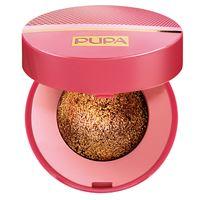 Pupa glamourose metallusion ombretto cotto effetto lamina n. 001 glam bronze