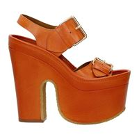 Stella McCartney sandali cowper donna eco pelle arancione 39