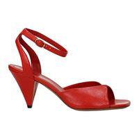 Celine sandali donna pelle rosso 40