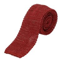 Barba cravatte Barba uomo rosso