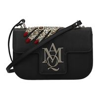Alexander McQueen borse a tracolla donna pelle nero one size