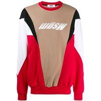 MSGM maglione uomo 2740mm7319579918 cotone rosso