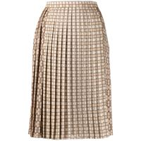 BURBERRY gonna donna 8016899 poliestere beige