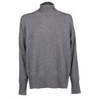 JIL SANDER maglione donna jscp754021wpy10008024 cashmere grigio