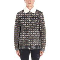 PHILIPP PLEIN giacca outerwear uomo f19cmdb0192pde004n10sq cotone multicolor