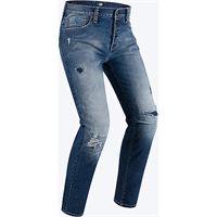 PMJ Promo Jeans jeans moto street stone washed blu pmj