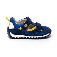 Sneakers naturino bambino conor azzurro giallo