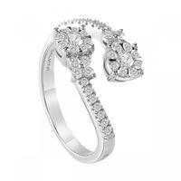 Salvini anello in oro bianco con diamanti