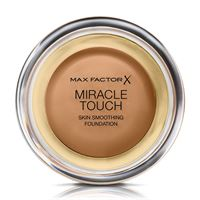 Max Factor miracle touch - fondotinta coprente con acido ialuronico 085 caramel