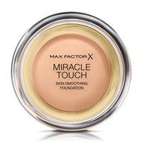 Max Factor miracle touch - fondotinta coprente con acido ialuronico 045 warm almond