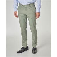 Ashki.i pantalone verde micro-armatura