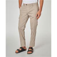Ashki.i pantalone beige tasconato