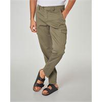 Ashki.i pantalone verde militare tasconato