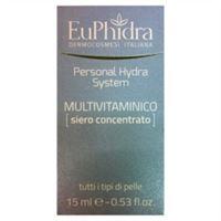 EuPhidra linea personal hydra system siero concentrato multivitaminico viso 15ml